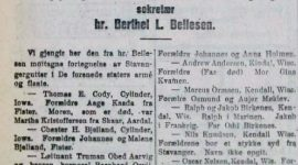 Rogalendinger som deltok i 1. verdenskrig, del 1
