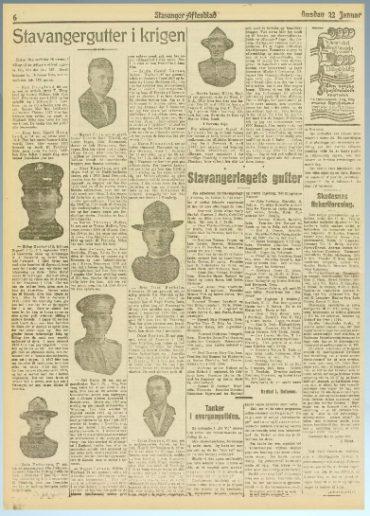Rogalendinger som deltok i 1. verdenskrig del 2