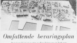 Store planer i strøket Pedersgata Verksgata i 1974
