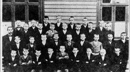 Skolebilde fra 1898.