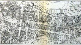 Kart hentet fra Stavanger bystyrets bok 1917