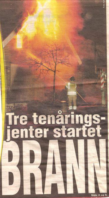 Brann i Pedersgata 124