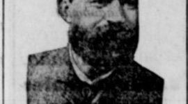 Fhv. skibsfører og fyrvogter Magnus Johansen. f. 1845