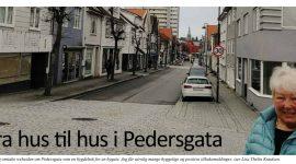 Pedersgata i lokalavisen for Storhaug. nr. 2 2019